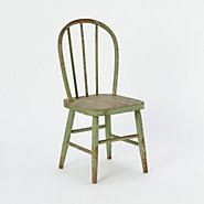 Vintage Child's Chair, Green