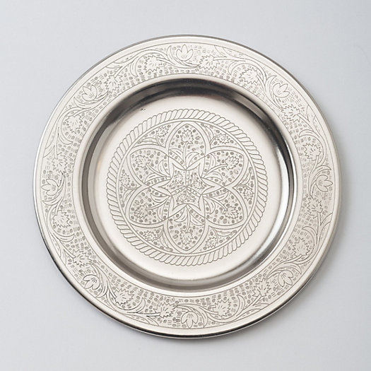 Etched Blossom Tray, Small