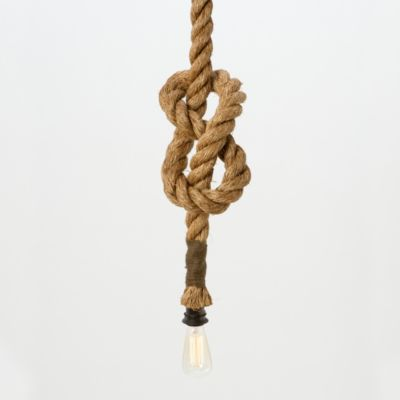 Tied Up Pendant Lamp, Short