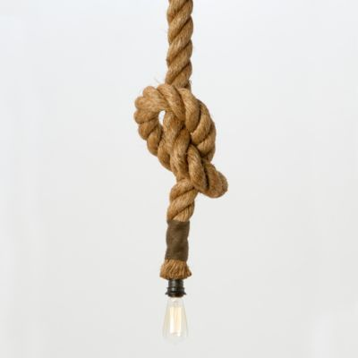 Tied Up Pendant Lamp, Long
