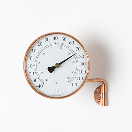 Copper Dial Thermometer