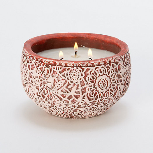 Linnea's Lights Wild Berry Lace Candle