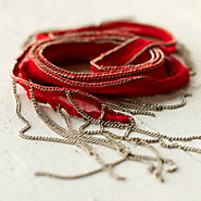 Silk Road Bracelet, Red
