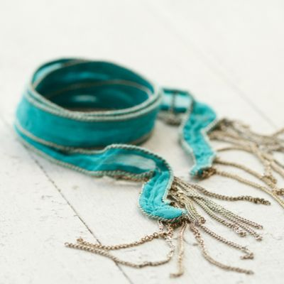 Silk Road Bracelet, Blue