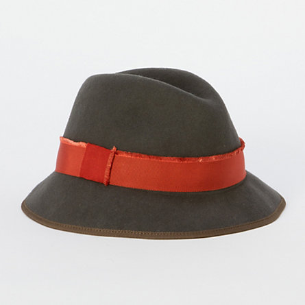 Ribbon-Wrapped Fedora