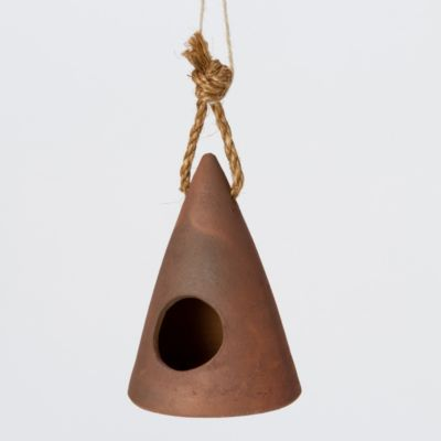 Ceramic Cone Birdhouse