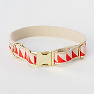 Triangles Dog Collar, Extra Large