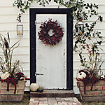 Curb Appeal: Fall Doorstep Decorating