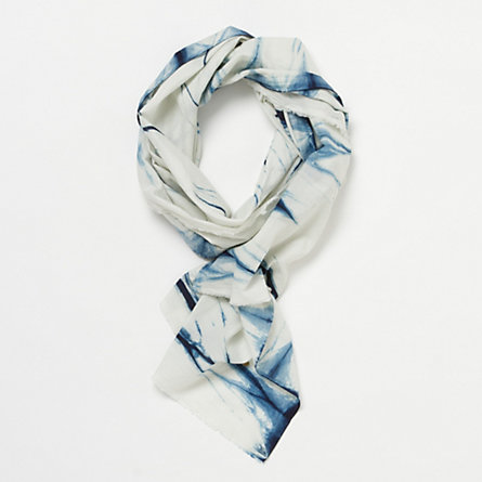 Shibori Scarf, Waves