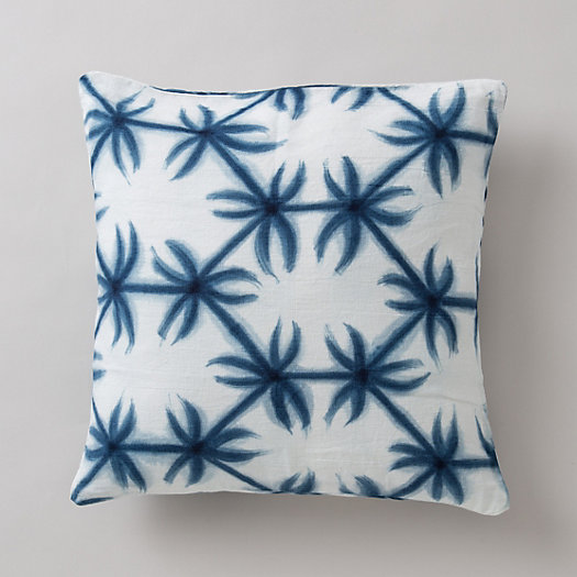 Indigo Garden Pillow
