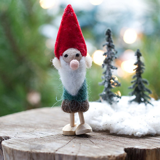 Wooly Gnome Ornament
