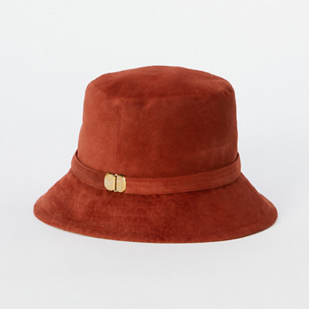 Brick Suede Bucket Hat