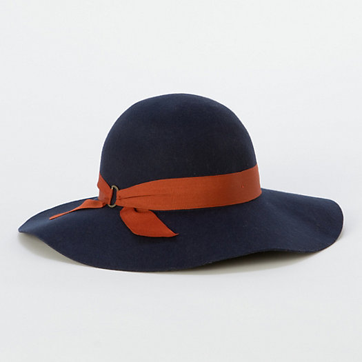 Saffron-Sashed Floppy Hat