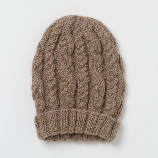 Oatmeal Cable Hat