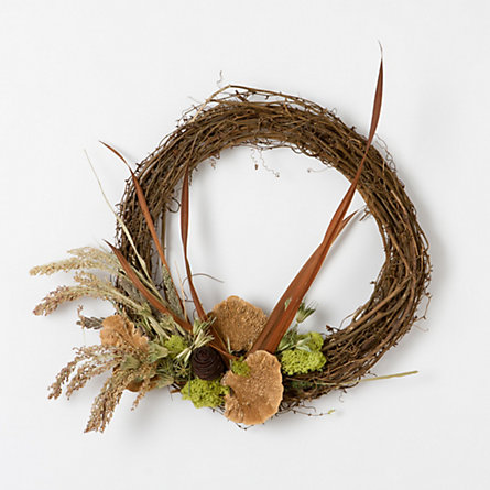 Foraged Grapevine Wreath