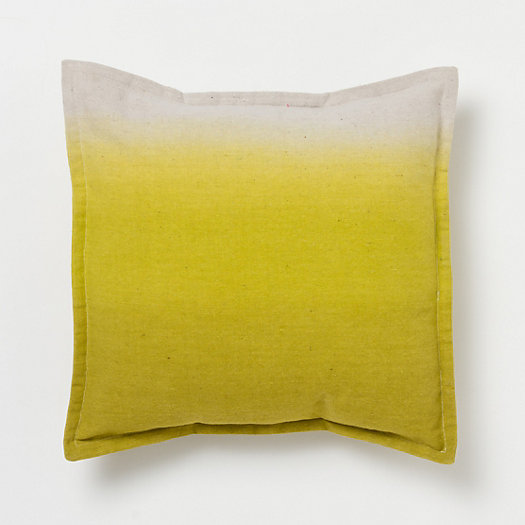 Hand-Dyed Ombre Pillow