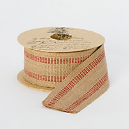 Striped Jute Webbing