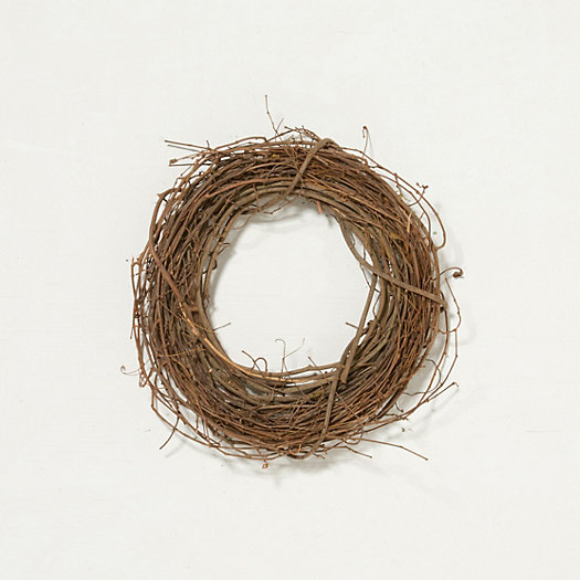 Dried Grapevine Wreath