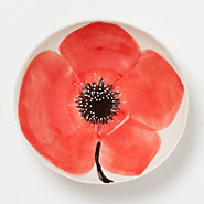 Blooming Poppy Serving Bowl