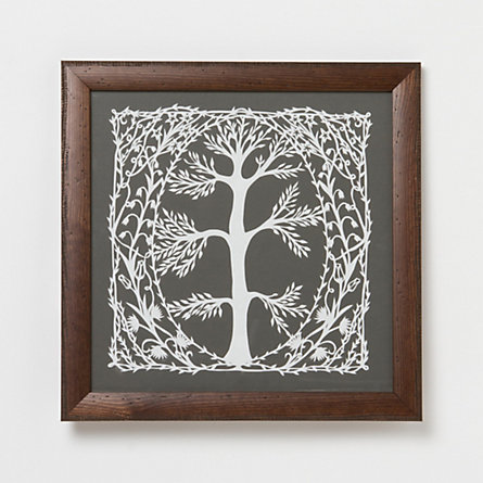 Wye Oak Papercut