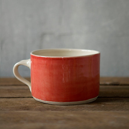 Open Spaces Mug, Poppy
