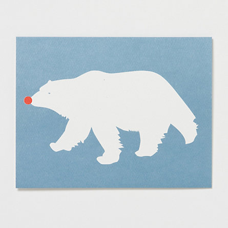 Polar Bear in Disguise Cards