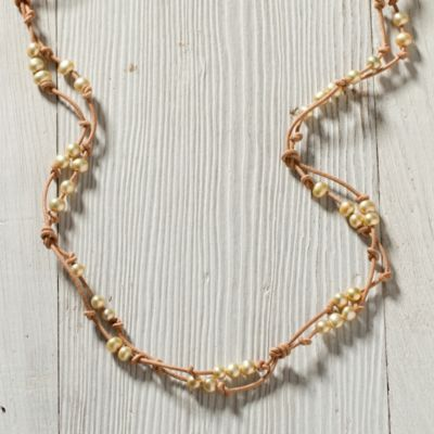 Scattered Pearls Bracelet, Natural