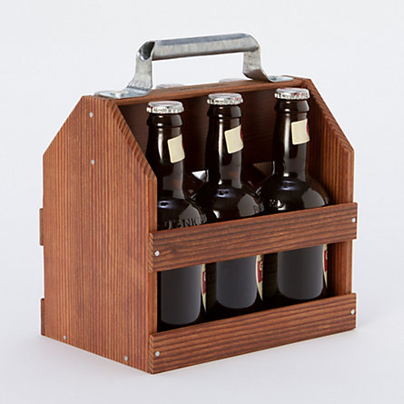 Wooden Six Pack