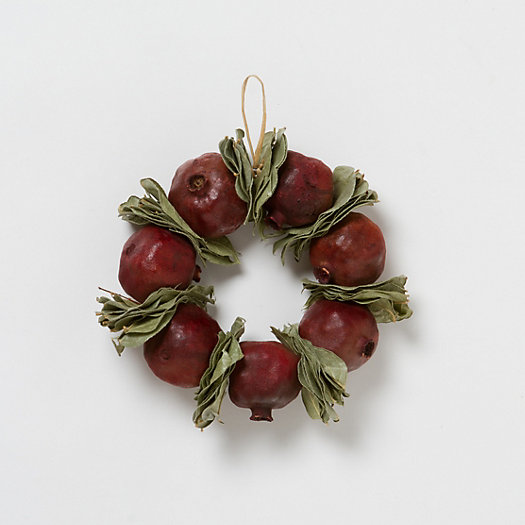 Pomegranate & Bay Wreath