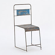 Reclaimed Iron Chair
