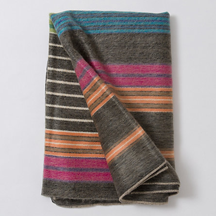 Ribbon Stripe Throw
