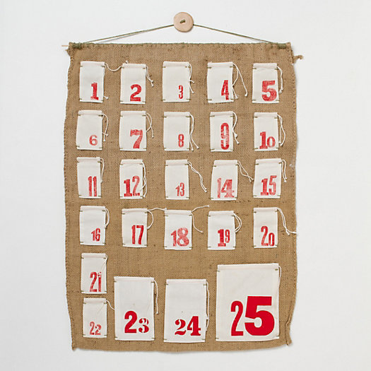 Grain Sack Advent Calendar
