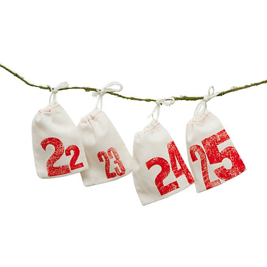 Printed Pouches Advent Calendar