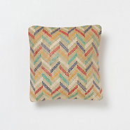 Chevron Outdoor Pillow, Multi
