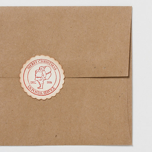 Letter to Santa Envelope Seals