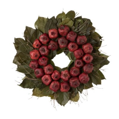 Dried Pomegranate Wreath