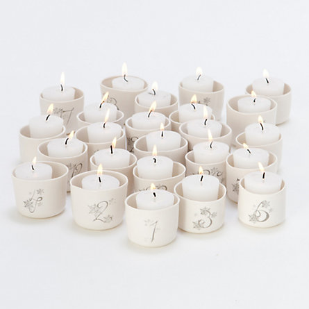 Advent Calendar Votive Set