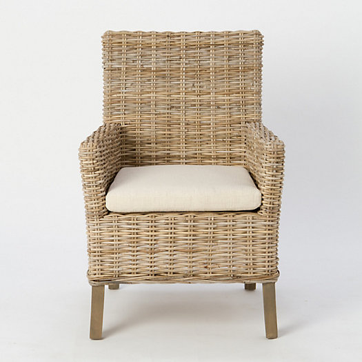 Naples Mango Wood Armchair