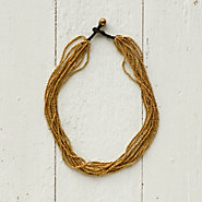 Brass Ore Necklace