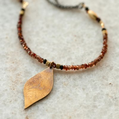 Fall Color Necklace