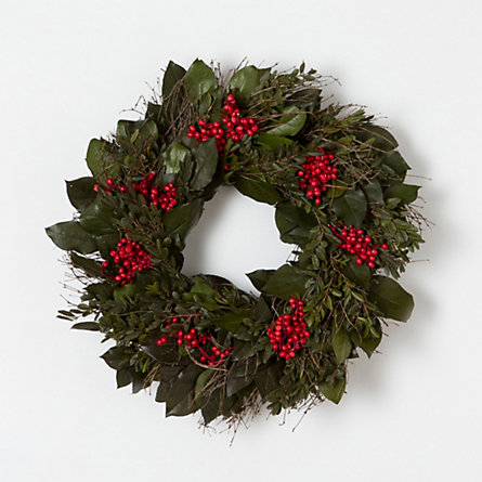 Canella & Quailbrush Wreath