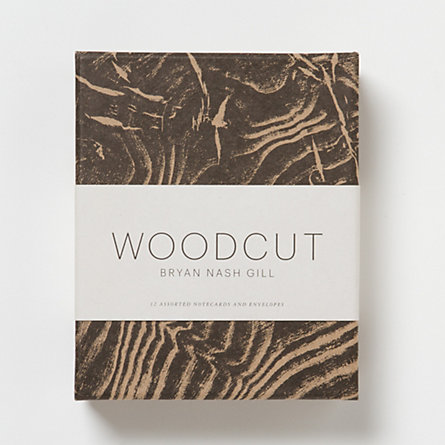 Woodcut Card Set
