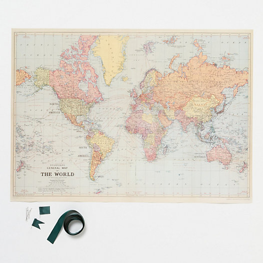 DIY Travel Map Kit