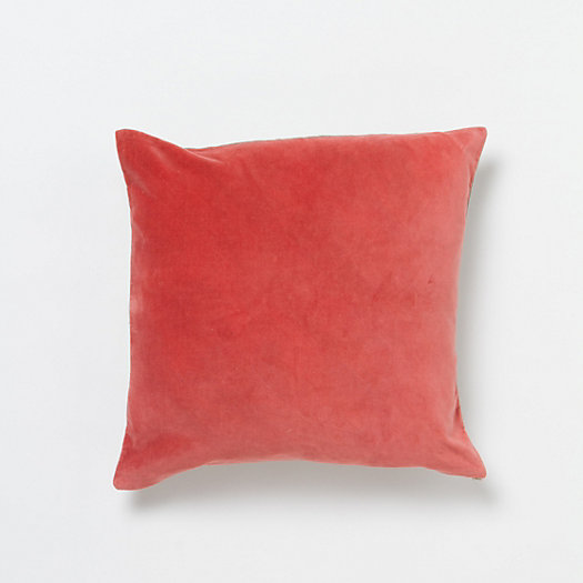 English Velvet Pillow