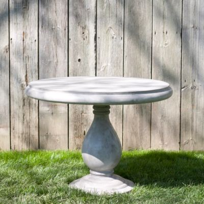 Cast Stone Garden Table