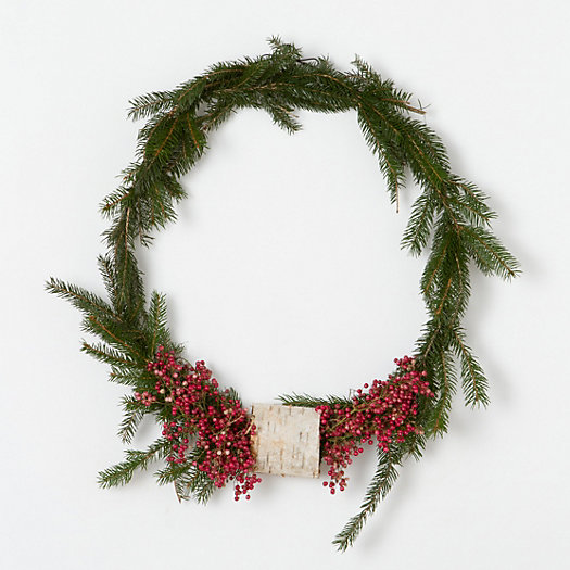 Pepperberry & Birch Wreath