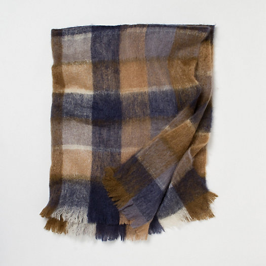 Mohair Throw, Autumn