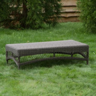 All-Weather Wicker Coffee Table