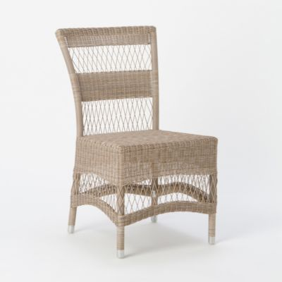All-Weather Wicker Dining Chair
