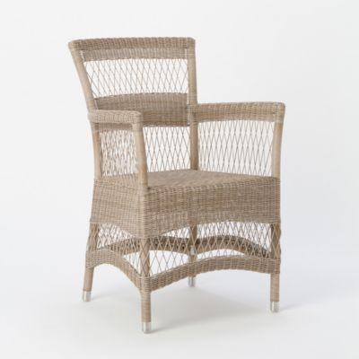 Open Weave Stripe Chair